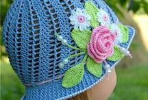 Crocheted Hats / Whether you're looking for free crochet patterns or just a little inspiration, here are some awesome crocheted hats to help you decide on your next crochet project. / by CraftsCrazy