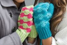 Crocheted Mittens and Gloves / by CraftsCrazy