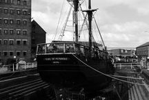 Gloucester Maritime - in Black and White