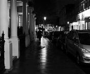 London Streets / A collection of images from the streets of London. Night shots, at 4am when no one is around and the quirky Brick Lane.