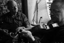 Ireland - Musicians / Traditional Irish Music session - Rusty Mackeral, Ti Linn, Donegal Ireland