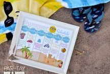 Summer Fun Like a Cherry / Summer activities, counting down to summer vacation, road trips with kids, summer with kids, water activities for kids, free summer activity printables, and all things surviving summer with your kids :)