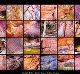 ' Australia Rocks ' Series Montages Prints for Sale / 'AUSTRALIA ROCKS' Montages. An intimate look at the incredibly fascinating rocks and their formations around Australia. This country has some of the oldest and diverse rock formations in the world.   Visit my photo gallery and get a beautiful Fine Art Print, Canvas Print, Metal or Acrylic Print. 30 days money back guarantee on every purchase so don't hesitate to bring some 'INTEREST and COLOUR' in your home or office!  Prints for sale by Lexa Harpell.