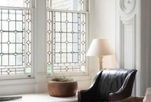 + stained glass in the home +