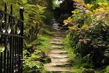 paths and stairs