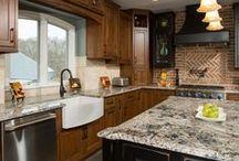 Kitchen Remodels / Custom designed kitchen remodels in Northern Virginia by Sun Design Inc. www.sundesigninc.com