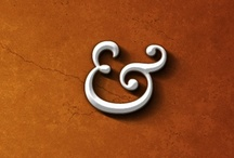 Typography - Letter / Number / Ampersand