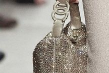 Clothing and shoes and bling...