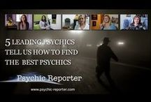 """Psychic Adventures / Video interviews with Psychics.  These interviews include Q & A and also """"Psychic Spotlight""""."""
