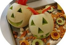 HALLOWEEN Food Fun / Simple ways to have fun with healthy food at Halloween ... perfect for school parties or jazzing up your serving line.