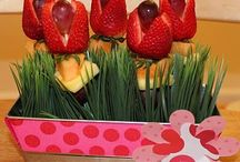 SPRING-EASTER Food Fun / Easy, fun, delish, nutrish ways to celebrate spring holidays with food