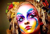 Face paint and fancy dress ideas