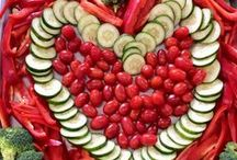 VALENTINE Food Fun / So many delicious ways to add healthy hearts to your Valentine Day celebrations!