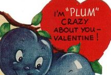 FOOD VALENTINES Vintage Fun  / Just for the corny puns and fun graphics