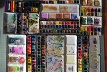 Art supply candy
