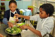 COOKING WITH STUDENTS Rocks / Many schools are sponsoring cooking clubs, camps and other fun culinary programs for students.