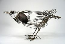 SCULPTURE: Wire Sculpture