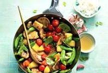Everyday Meals for Summer / Summer inspiration for the everyday dilemma of getting dinner on the table.