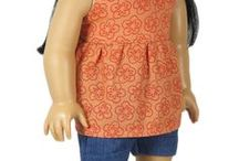 "American Girl Doll Shorts / Trendy shorts outfits for 18"" American Girl dolls."