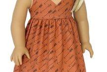 """American Girl Doll Dresses / Trendy dresses for 18"""" Dolls like American Girl Doll"""