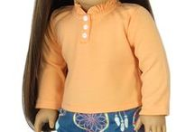"""American Girl Doll Sleepwear / Pajamas and nightgowns for 18"""" American Girl doll."""
