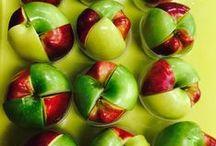 APPLES Rock in School Meals / Delicious ways to decorate, serve and enjoy apples in school meals.
