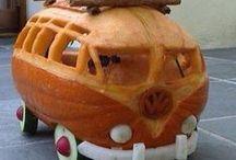PUMPKINS and SQUASH Rock in School Meals / Delicious ways to decorate, serve and enjoy pumpkins in school meals.