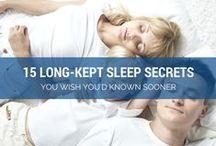 Better Sleep / Tips & tricks to sleep better every night. Follow us!