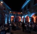 Castello di Mugnana / #weddinglighting #weddinglights #weddingday #wedding #stringoflights #stringlights #poolparty #discolights #truss #trussing #weddinglovebug #bridebook #bride #bridal #matrimonio #weddingplanner #uplighting #ledlighting #castello #castle #mugnana #castellodimugnana