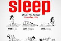 Sleep Meditation & Yoga / The best sleep yoga poses and sleep meditation tips. Follow us!