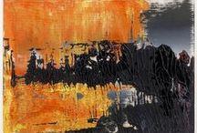 Amazing Art / Amazing Modernist & Post Modern art - Franz Kline, Gerrard Richter, Pierre Soulanges.