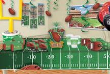Football Party Ideas / Hut, Hut, Hike! Kick off your football party the right way with our Football party ideas.  Show support for your favorite team! These easy decoration ideas will turn your game day into a celebration. / by Party Cheap