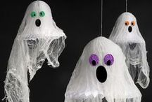 Halloween Party Ideas / Scare your friends with a terrifying (but fun, of course) Halloween party! There are so many options for Halloween -- the best holiday for decorating. We have all the ghosts, ghouls, goblins and other critters you need to spark your spooky creativity.  / by Party Cheap