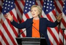 Hillary Clinton Famous Pantsuit / Hillary Clinton 2016 presidential campaign travels