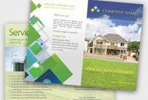 "Quick Logo Design ""Brochures Gallery"" / Own Creation"