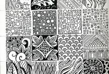 Doodling / Doodle patterns to create magic moments!