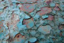 Rusted / Iron oxidising creates beautiful photographs