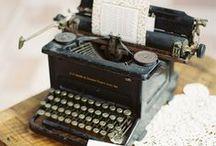 Inspiración Maquina de Escribir / Decoración maquina de escribir / Interiorismo /  Retro / Historias de una maquina de escribir
