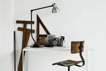 Espacios de trabajo / Lugares agradables donde estudiar, trabajar, leer, coser