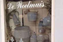 The Studio : VJR & MORE / My little Shop in Baambrugge, the Netherlands. A treasury full of beautiful things from a bygone era. Special frills for women and men, including the VJR JEWELS my one of a kind designs and  vintage bags.