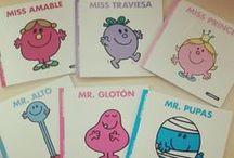 Mr. Men y Little Miss / Los personajes más divertidos