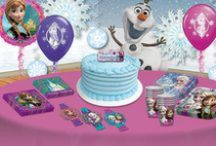 Disney's Frozen Party Ideas / Were you enchanted by the lovable Elsa and Anna? You were not alone! Make all of the characters from this blockbuster film a part of your child's special day. Throw a fun and affordable Frozen birthday party bash with these decoration ideas.