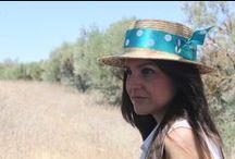 canotier Tocados Chic by Inma Segovia / canotier