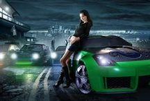 Need For Speed / The Art around the game Need For Speed