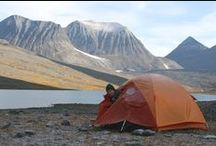 Sept. 2014 - 5 days trekking in Swedish Lapland - 80 km ring around Nikkaluokta - / Trekking ring - 80 km starting from Nikkaluokta