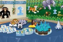 Boy's Birthday Party Ideas / Ideas and themes for a boy's birthday party along with decorations and supplies!