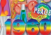 60's Theme Party Ideas / Look through many decorations and supplies to help inspire you for a 60's party / by Party Cheap