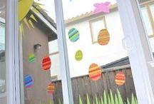 Easter Classroom Decorating ideas / Creative ideas for decorating a classroom for Easter