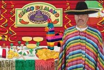 2015 Cinco de Mayo Party Ideas / Ideas for 2015 Cinco De Mayo Parties, along with Cinco De Mayo decorations. Get great ideas to have an awesome Cinco De Mayo Party. / by Party Cheap