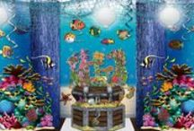 Under the Sea Prom Theme / Find Under the Sea prom theme ideas and products to help you create an awesome underwater theme for your prom.  / by Party Cheap